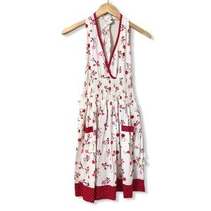 Retro 50s Style Cherry Kitchen Apron